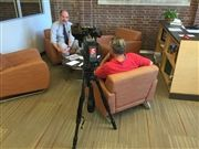 Director Vince Durnan speaks with NewsChannel5 in September about a High School Theatre production on social justice issues.