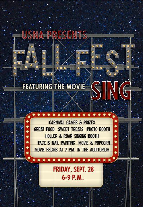 USN   'Sing!' at Fall Fest   University School of Nashville
