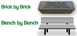 Brick by Brick/Bench by Bench