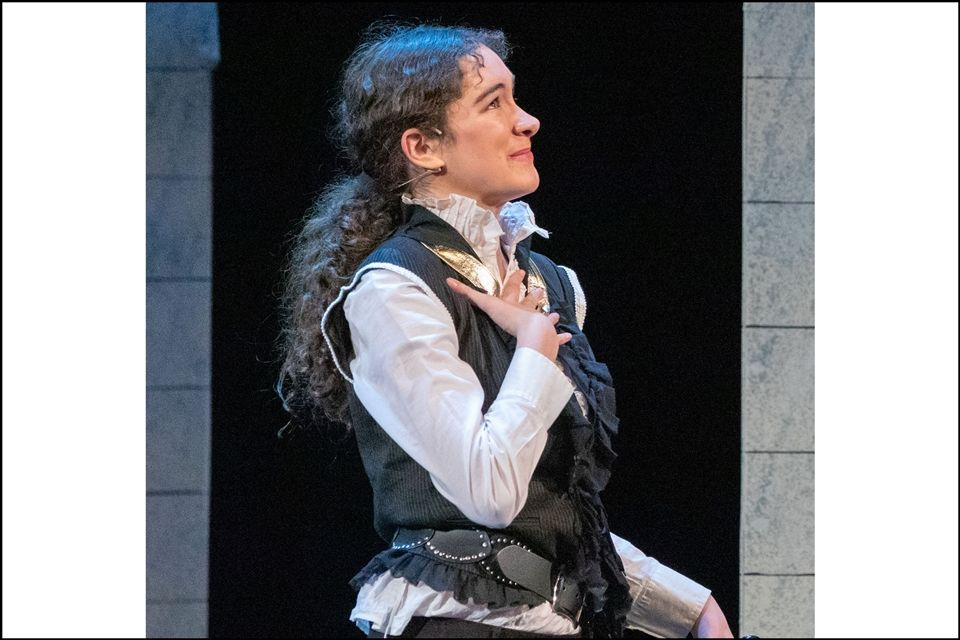 Marlie Kass performing in The Three Musketeers this fall.