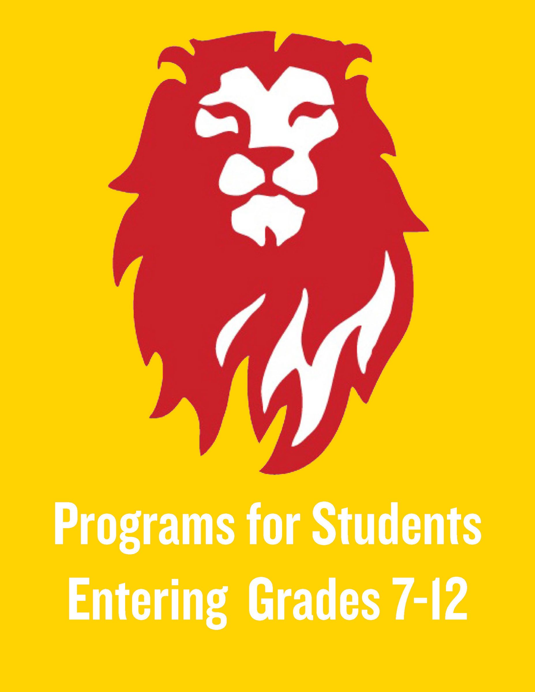 Click to View Middle & Upper School Programs