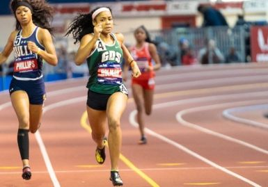 Ziyah at Millrose, NY 2019. Credit Joe Swift