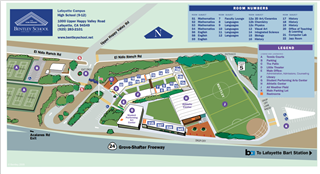 Lafayette Campus Map