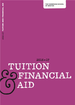 Tuition and Financial Aid Brochure