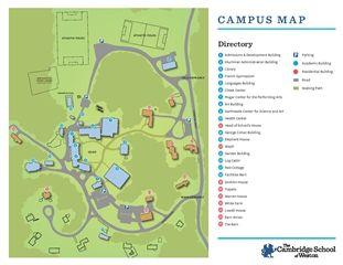 Pace Campus Map.Visit Csw The Cambridge School Of Weston