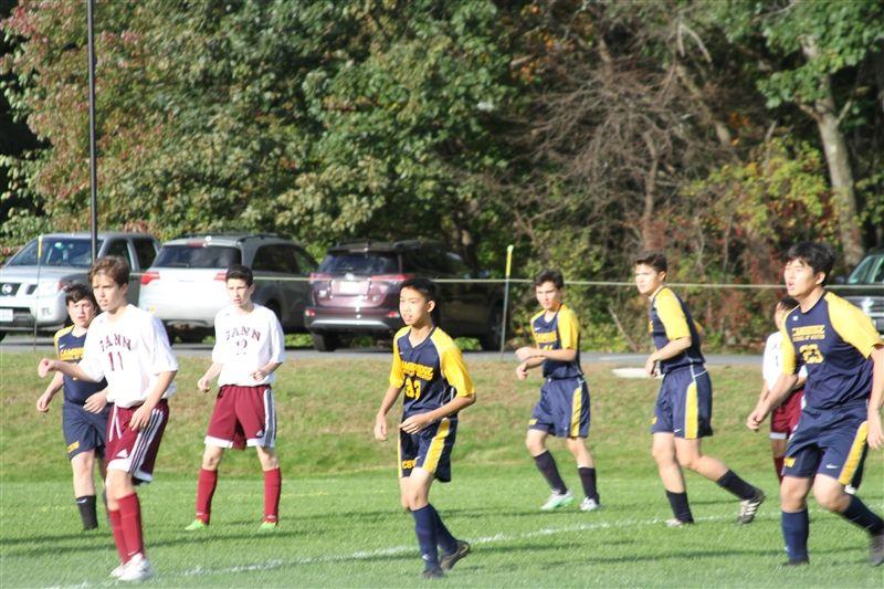 Boys' JV Scores First, but Falls to Gann 3-1 | The Cambridge School