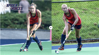 Playing field hockey together from Trinity to the University of Richmond