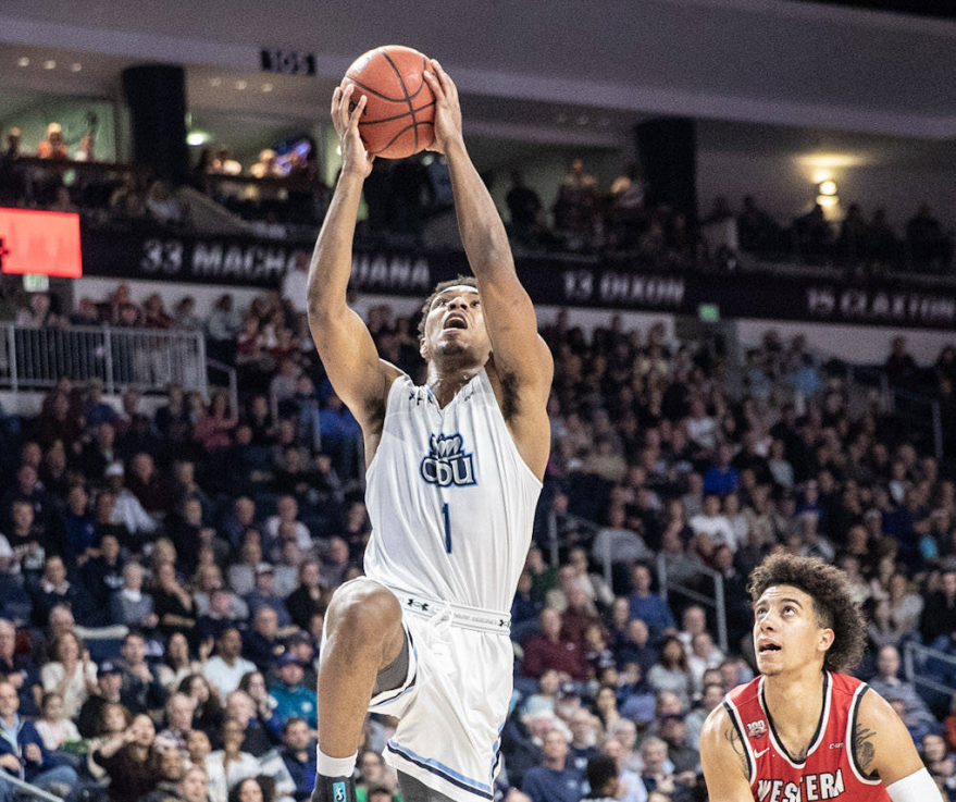 Competitive edge of ODU's Jason Wade, a Trinity grad, formed the same way his father's did