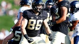 Jack Freudenthal '15 ranked as the #1 Tight End in the ACC.