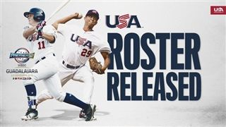 Tyler Johnson Named to USA Premier12 Baseball Roster