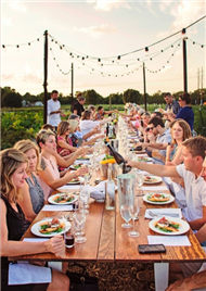 Richmond's 'Dinner in the Field' named 1 of top 10 'most amazing outdoor dining experiences' in the world
