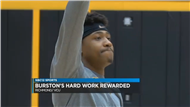 Burston's dedication earns him a scholarship at VCU