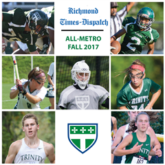 The Fall 2017 Trinity Richmond Times-Dispatch All-Metro Team