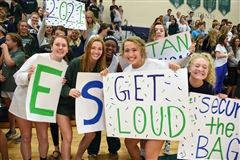 The Pep Rally was the culminating event of Spirit Week and officially kicked off Homecoming Weekend on Friday afternoon.