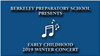 2019 Early Childhood Winter Concert