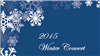 2015 Upper Division Winter Concert