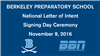 2016 Fall National Signing Day