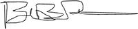 Chaplain Brandon Peete Signature