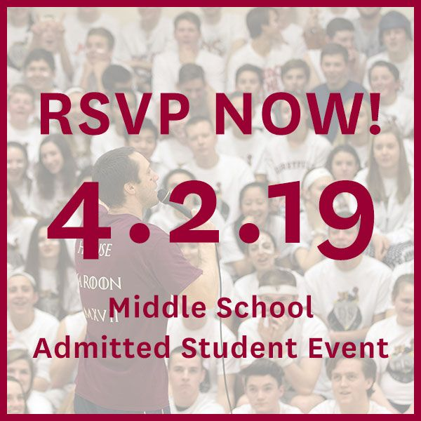 RSVP to Middle School Ice Cream Social