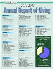 Annual Report of Giving 2014-2015