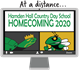 The specially designed Homecoming 2020 T-shirt.