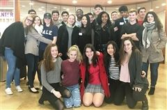 Hamden Hall students attended a Model United Nations conference at NYU.