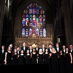 The Hamden Hall Chamber Singers performed recently at the historic Trinity Church Wall Street in New York City.