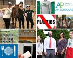 A collage of the Top 10 Highlights from the 2018-2019 School Year
