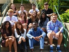 Hamden Hall specially selects 12 seniors each year for its premier Peer Leadership Program.