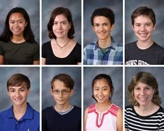Instrumental students selected to the Southern Connecticut Regional Honor Choir and Orchestra.