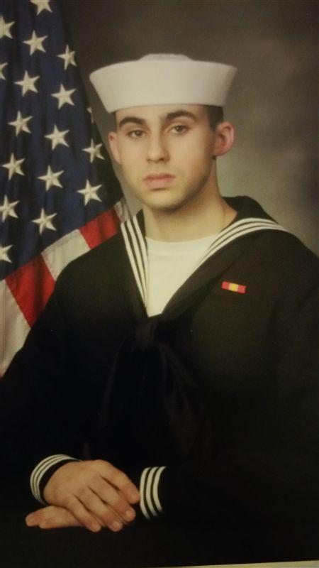 Thomas J  Manfredi, E-2 Aviation Electrician, U S  Navy