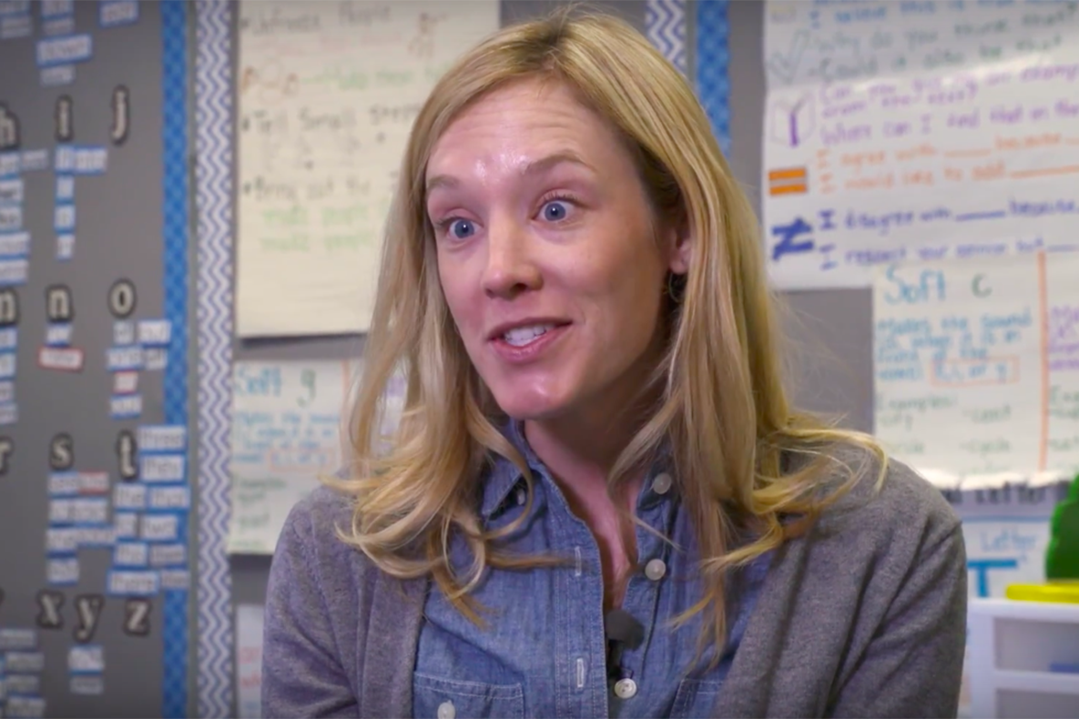 First Grade Teacher Margit Patterson  on 'Why I Teach'