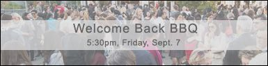 Welcome Back BBQ RSVP