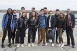 Tabor Hosts 11 French Students
