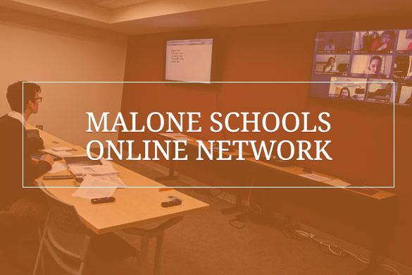 Link to Malone Schools Online Network Programs