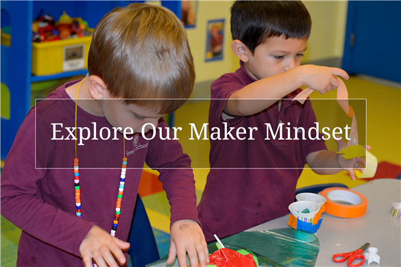 Link to Severn Early School information about our maker and innovation programs.