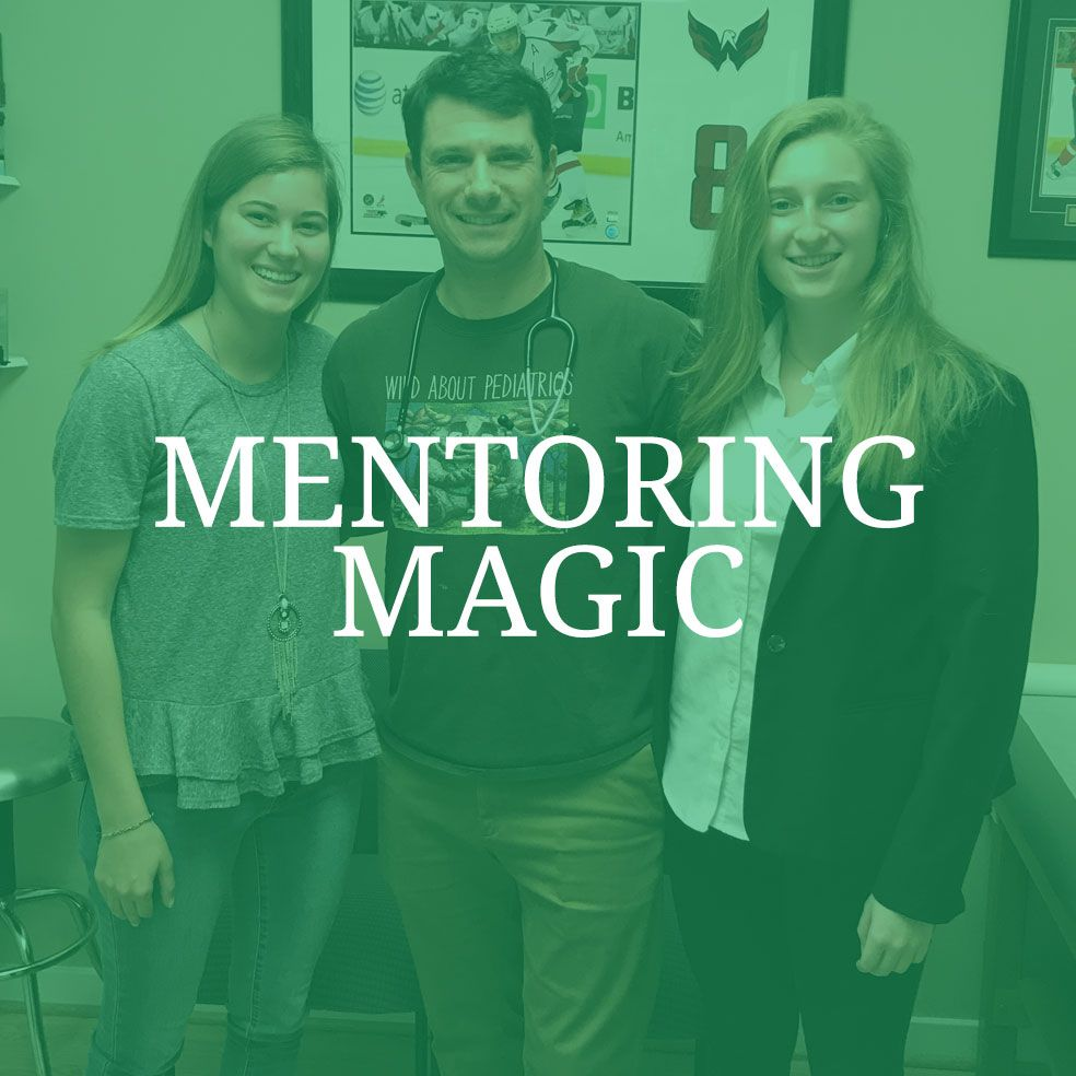 Severn School alumni mentors.