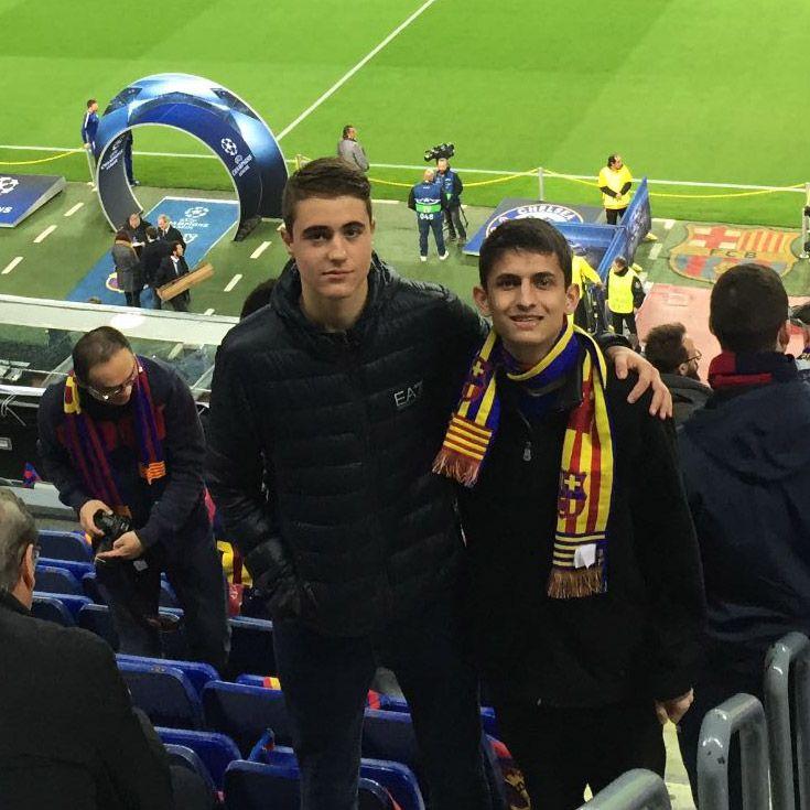 Severn School students in Spain.