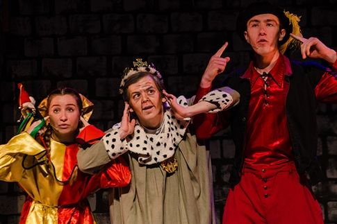 "The Water Street Players present ""Once Upon a Mattress."""