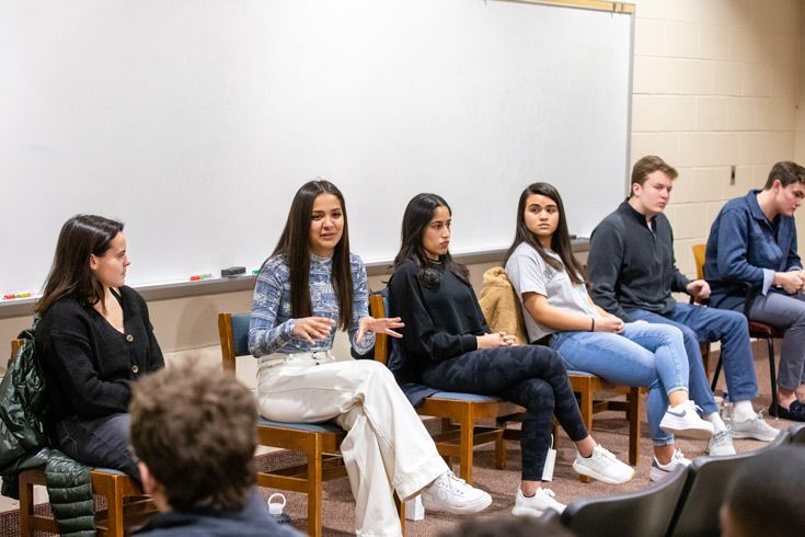 The Class of 2018 College Counseling Alumni Panel