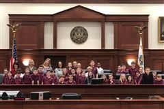 4th grade at the courthouse!