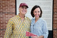 Dave Wright '69 and Carrie MacVean Grimes '91