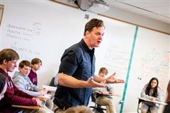 Writer in Residence 2020 Taylor Mali.