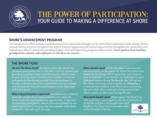 The Power of Participation - Your Guide to Making a Difference at Shore