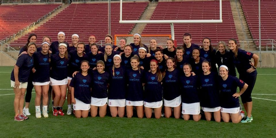 Stanford Women's Lacrosse, Ward in upper left