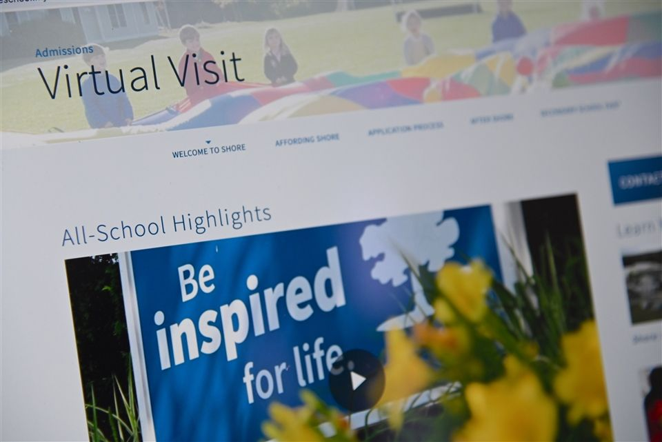 "Families can now make a virtual ""visit"" to Shore's campus."