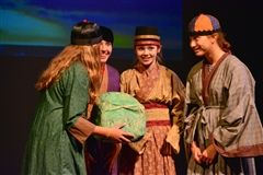 Grade 7 presented 'The Jade Stone'