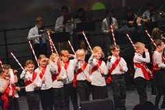 Toy soldiers marched in Shore's Winter Concert