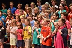 Lower Schoolers performed on Earth Day