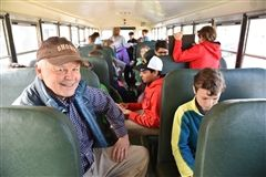 Head of School Mr. Griffin accompanies fifth grade to Mystic Seaport.